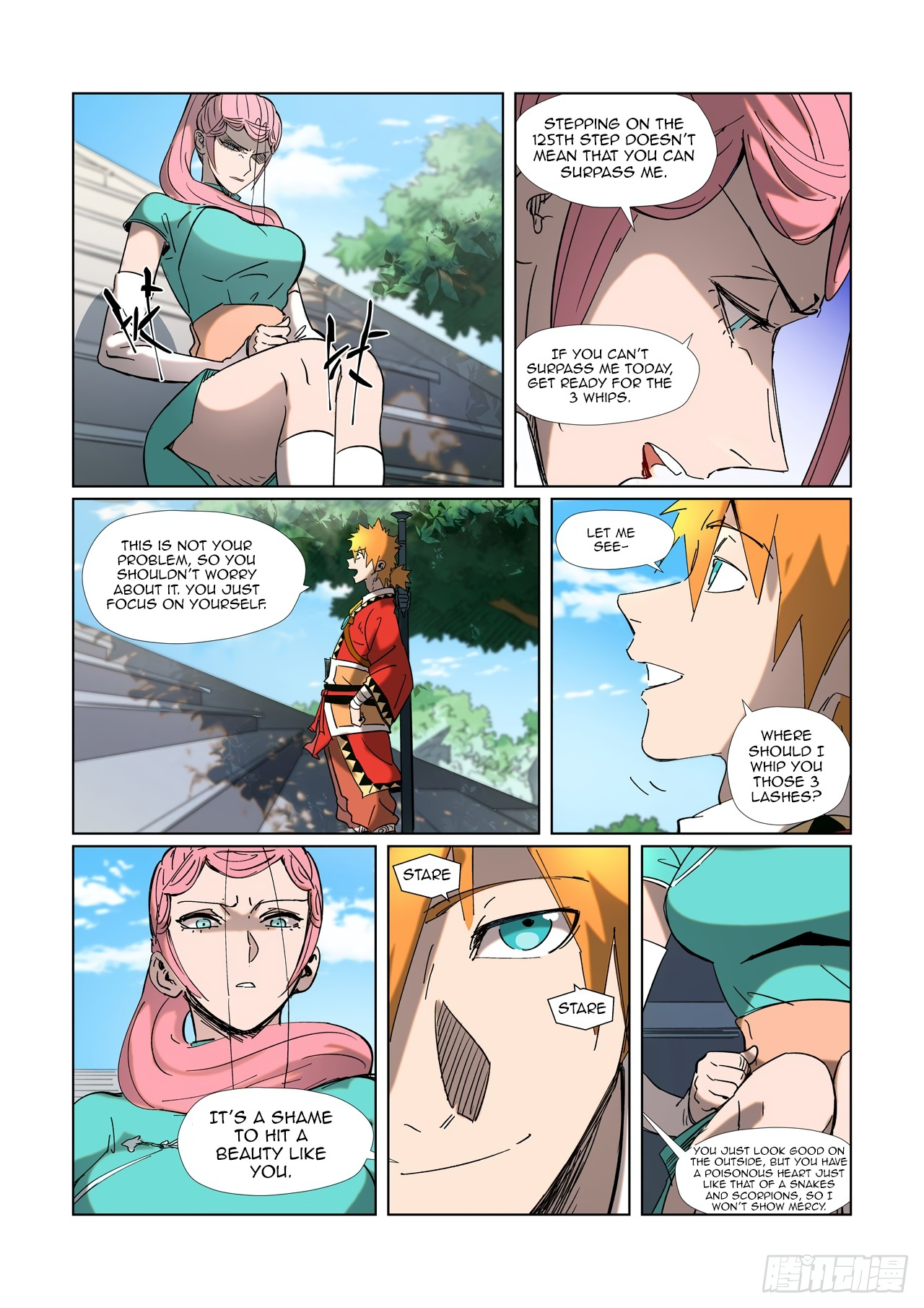 Tales of Demons and Gods ch.315.1
