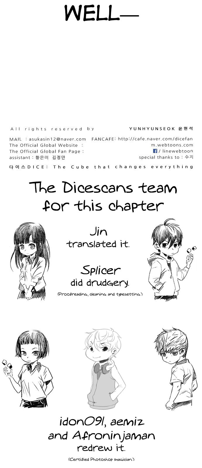 DICE: The Cube that Changes Everything ch.368