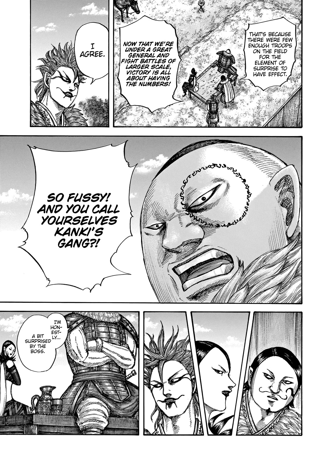 Kingdom Chapter 676: Why We Thirst