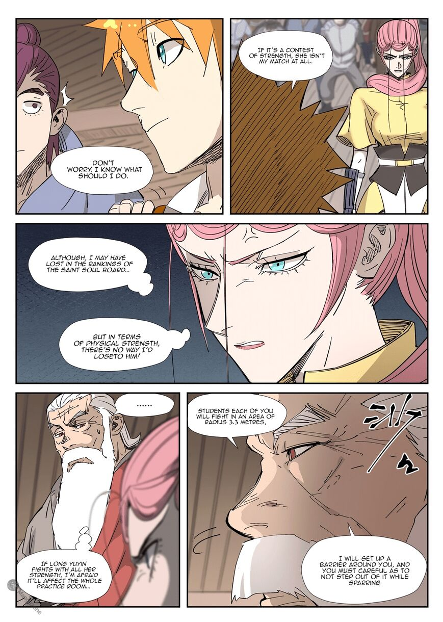 Tales of Demons and Gods ch.321