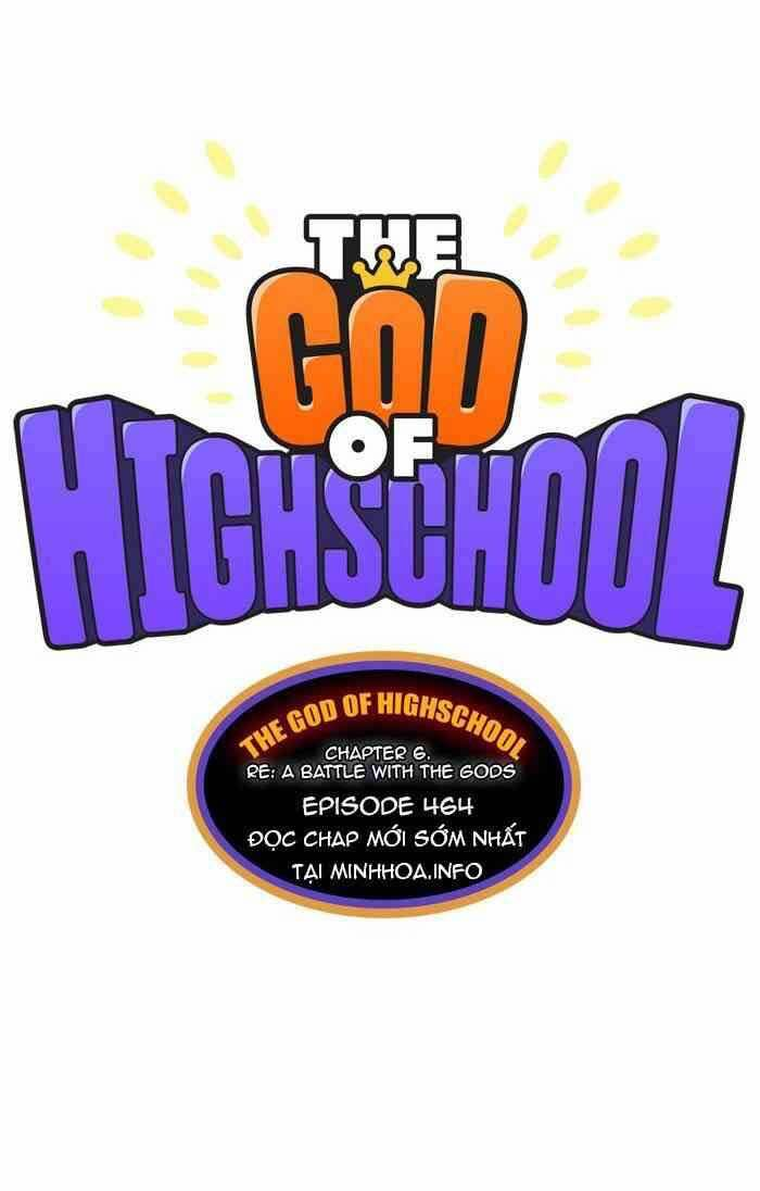 The God Of High School 464